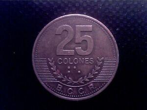 COSTA RICA   25   COLONES  2007     JUL17F
