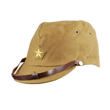 WWII WW2 JAPANESE ARMY IJA OFFICER FIELD WOOL CAP HAT L -33079