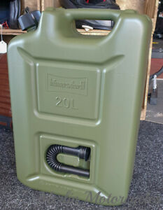 Jerry Fuel Can 20 Ltr Transport Diesel Gasoline Petrol Oil Kerosene - Next Day