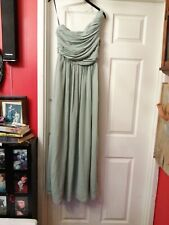 Pale Green Evening Gown Bridesmaid. 8