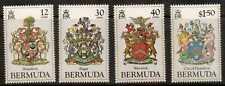 BERMUDA SG499/502 1985  COATS OF ARMS MNH