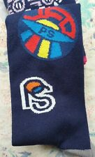 Paul Smith Mens English Socks Odd Sock Badges Navy White F119 OneSize Cotton Mix