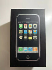 iPhone 2g 4GB 1st Generation Used Unlocked Black Boxed With All Accessories RARE