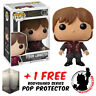 FUNKO POP GAME OF THRONES TYRION LANNISTER #01 VINYL FIGURE + FREE POP PROTECTOR