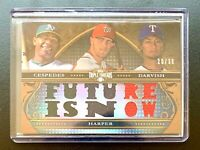 2013 Topps Triple Threads Sepia BRYCE HARPER Jersey Patch Combo Relic SP /36