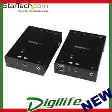 STARTECH HDMI over CAT5 HDBaseT Extender with USB Hub - 295 ft (90m) - Up to 4K