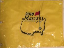 2018 Masters OFFICIAL PIN Flag From AUGUSTA - Sealed - AUTHENTIC