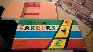 WADDINGTONS CAREERS EMPTY BOX & CARD INSERT BOARD GAME SPARE PART