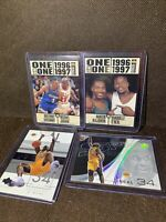 2003 Los Angeles Lakers Basketball Shaquille Shaq O'Neal Michael Jordan NBA Card