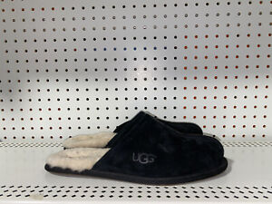 Ugg Australia Scuff Mens Suede Slip On Slippers House Shoes Size 12 Black 5776