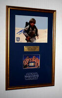 "STAR WARS Prop ""TATOOINE"" LUKE HOME, Signed JAKE LLOYD, Blu Ray DVD, COA, UACC"