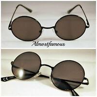 Circle Round Vintage Style Hippie 50s 60s Sunglasses  Festival Geek Retro Cyber
