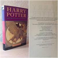 Harry Potter and the Prisoner Of Azkaban (Hardback,1999)[1st Edition/ 2nd Print]