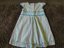 Carter's*Mult Colored Striped Dress*Toddler Baby Girl 5T*EUC