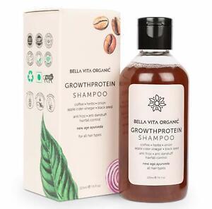 Bella Vita Organic Growth Protein Shampoo For Hair Volume, Fall, Dandruff 225 ML