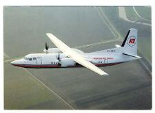 KENYA AIRWAYS Fokker 50 5Y-BFM Postcard