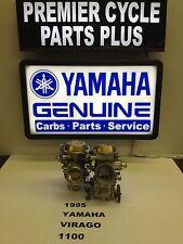 1995 YAMAHA VIRAGO XV 1100 SET OF MIKUNI CARBS CARBURETORS