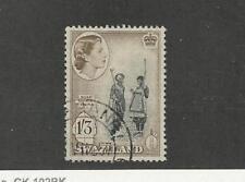 Swaziland, Postage Stamp, #62 Used, 1956