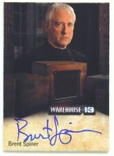 "BRENT SPINER ""BROTHER ADRIAN AUTOGRAPH RELIC CARD /160"" WAREHOUSE 13 SEASON 4"