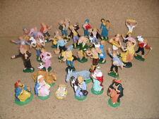 pastori presepe 56 pastori 10 cm nativita' s. gregorio  plastica art p 47