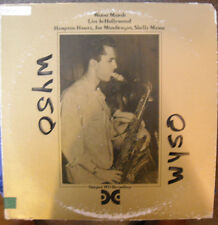 LP WARNE MARSH -- LIVE IN HOLLYWOOD  with HAMPTON HAWES/SHELLY MANNE/MONDRAGON