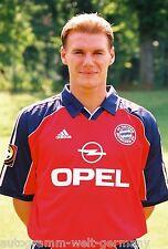 Alexander Zickler Bayern München 99-00 seltenes Foto+2