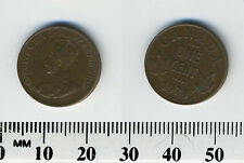 Canada 1928 - 1 Cent Bronze Coin - King George V