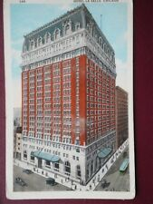 POSTCARD USA ILLINOIS CHICAGO - HOTEL LA SALLE