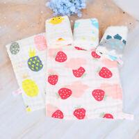 Baby Face Towel 6 layers Muslin Cotton Soft Towels Handkerchief Bathing Feedi JC