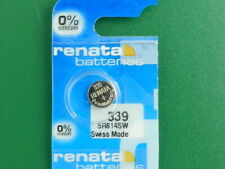 Batteries, 1 Pc Renata 339 Sr614Sw