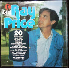 RAY PRICE - FOR THE GOOD TIMES (20 GREAT SONGS) VINYL LP AUSTRALIA