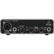 Behringer Umc22 U-phoria Audio Interface -