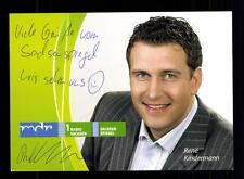 Rene Kinderman MDR Autogrammkarte Original Signiert # BC 73238