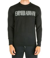 Emporio Armani Crew Neck Jumper for Men's