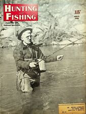 Vintage Hunting & Fishing Magazine March 1946 Great Cover Sporting