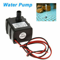 Ultra Quiet Solar DC 12V 3m 240L/H Mini Brushless Motor Submersible Water Pump