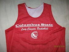 Columbus State Lady Cougars Jersey Shirt Women's Medium Tank Top NCAA BBall
