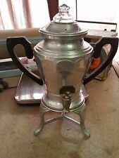 Great Norther Mfg. Pat. 1916 Aluminum AUTOMATIC COFFEE PECULATOR MAKER URN 1702