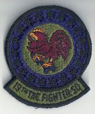 VIETNAM ERA U.S.A.F. 19TH TACTICAL FIGHTER SQUADRON INSIGNIA PATCH