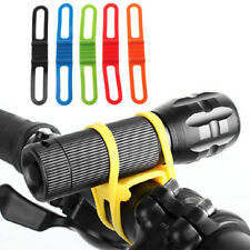 Silicone Bicycle Band Strong Elastic Bike Handlebar Flashlight Fastener Grip Tie