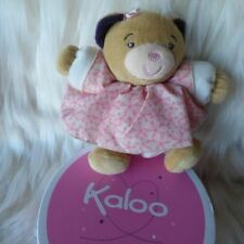 KALOO FRANCE PETITE ROSE SMALL PRETTY CHUBBY BEAR #K969861 NWT/GIFT BOX RARE