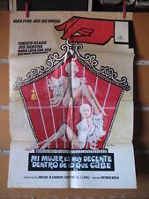 A4872  MI MUJER ES MUY DECENTE DENTRO DE LO QUE CABE - CONCHA VELASCO, JOSE SACR