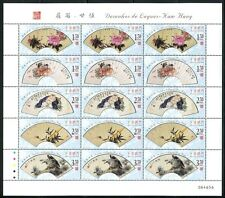 China Macau Macao 2006 Designs of Fans-Kam Hang Stamps Mini Sheet