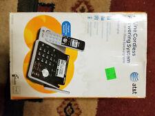 Att Tl88102 2-Line Cordless System Open Box
