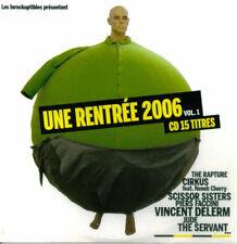 Compilation CD Les Inrockuptibles - Une Rentrée 2006 - Vol. 1 - France (EX/VG+)