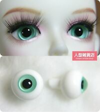14mm  For BJD DOD AOD MK OK RD Doll Dollfie Glass Eyes Outfit ling Green 33