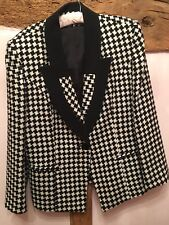 LIBRA Hounds Tooth Pure Wool Blazer Size 16 BNWOT