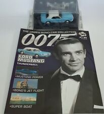 James Bond 007 Diecast Car Collection  Thunderball Ford Mustang 30 New