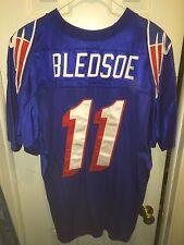 VINTAGE WILSON AUTHENTIC NFL NEW ENGLAND PATRIOTS DREW BLEDSOE JERSEY SIZE 48