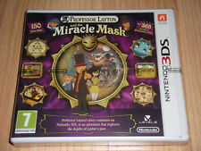 Professor Layton and the Miracle Mask For Nintendo 3DS Brand New And Sealed